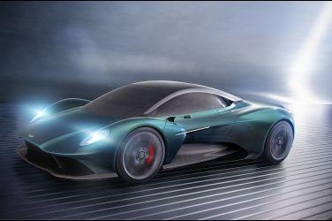 向Ferrari、McLaren宣戰 Aston Martin Vanquish Vision