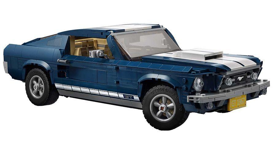 極高的收藏價值與可玩性─Lego 1967 Ford Mustang積木組