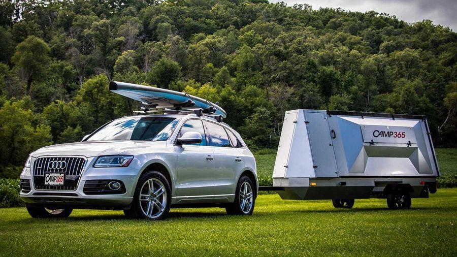 Camp365露營拖車讓你能輕鬆享受露營樂趣