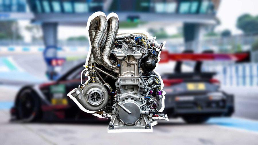 Audi為DTM賽事新開發的4缸引擎竟然有著高達610HP的輸出