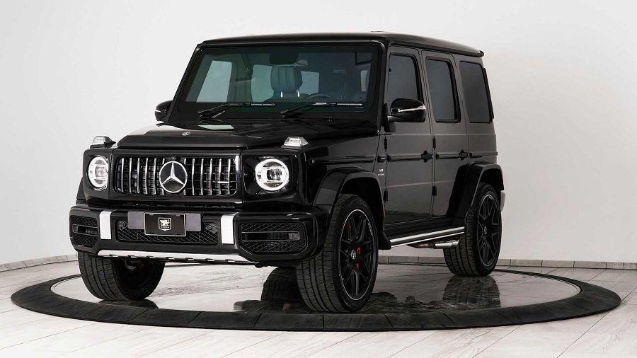 真正硬派!防彈的改裝Mercedes-AMG G63休旅車