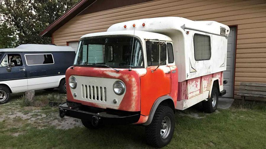 最獨特的 Jeep Forward Control復古改造露營車