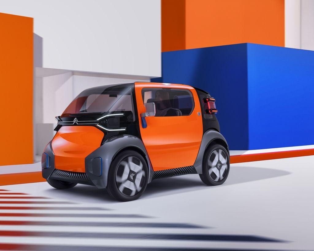【2019日內瓦車展】零污染、零噪音 Citroen Ami One Concept