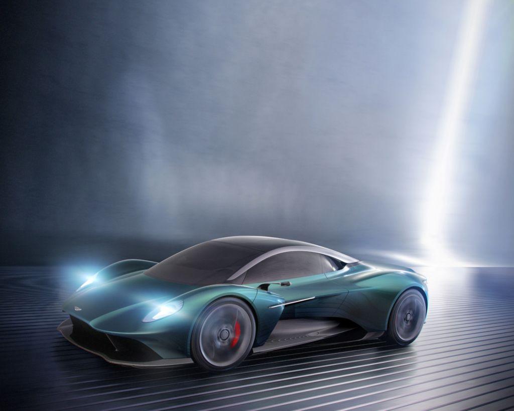 【2019日內瓦車展】向Ferrari、McLaren宣戰 Aston Martin Vanquish Vision