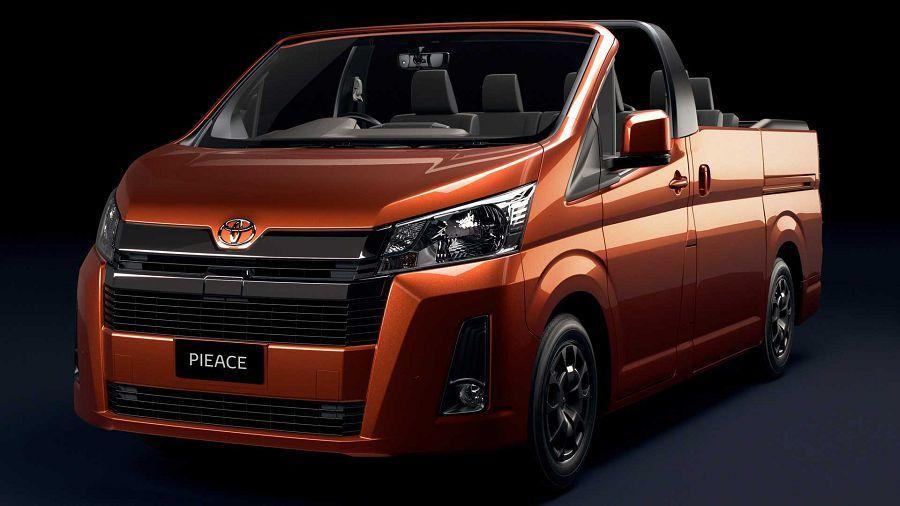 限量2,019台且為澳洲限定的Toyota HiAce Convertible敞篷商用車?