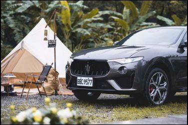 Maserati Levante   X   Glamping馳騁山野霸主  奢豪露營饗宴