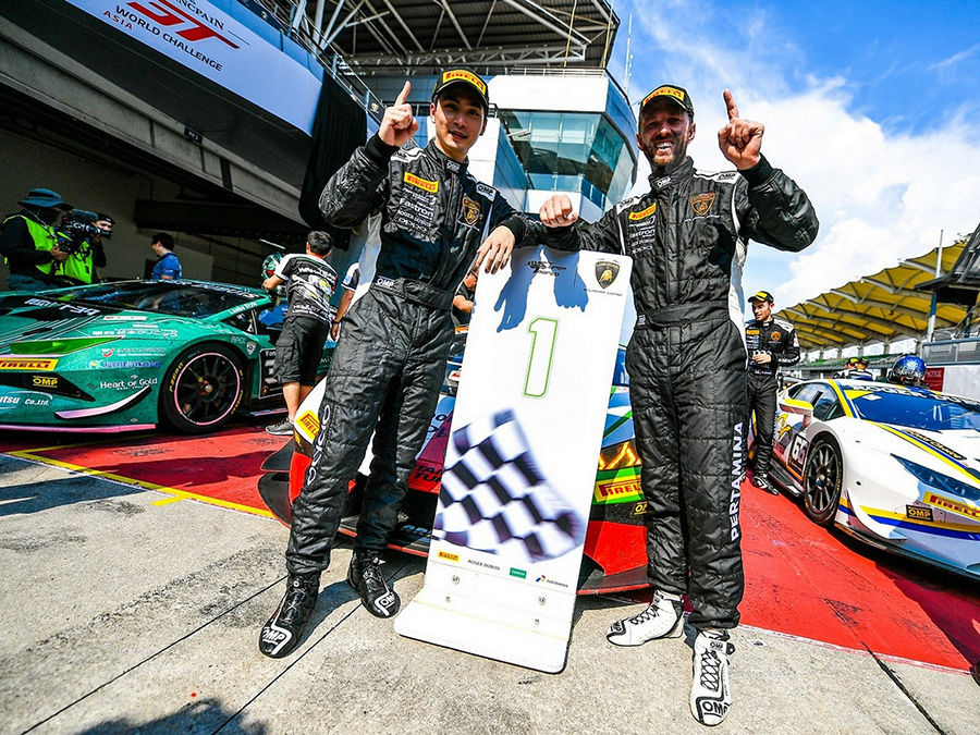 Gama Racing Team車手奪冠!臺灣車手大勝2019 Lamborghini Super Trofeo Asia亞洲挑戰賽