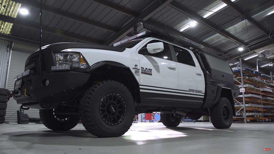 PCOR推出功能性超強的改造越野車Ram RT25 Supertourer