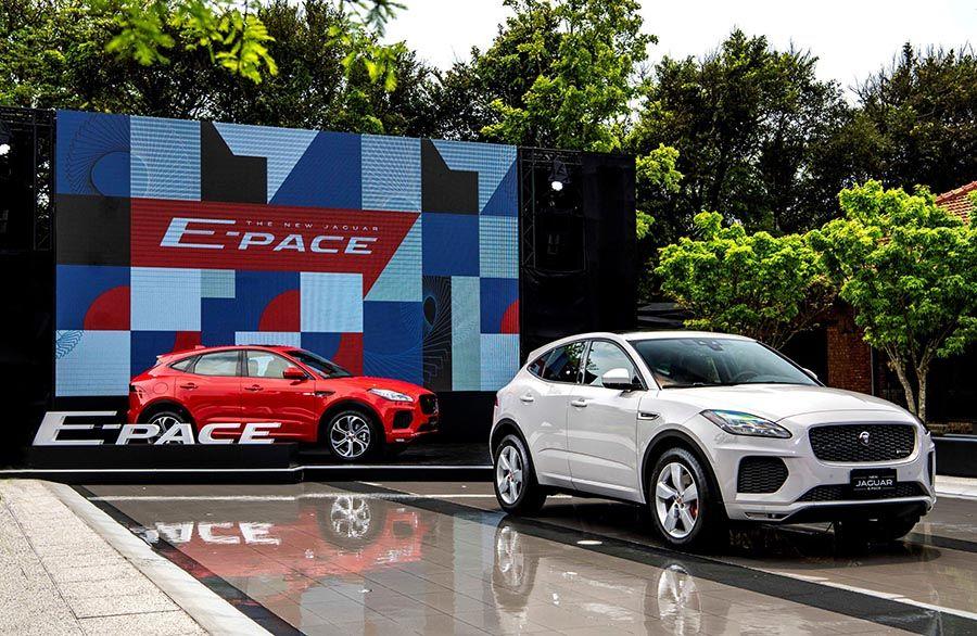 JAGUAR E-PACE正式在台上市!入門柴油車款179萬元起