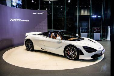 上空豪跑  McLaren 720S Spider