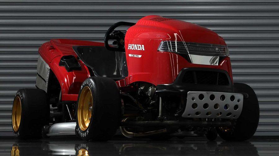 Honda做出一輛極速241 KM/H的割草機想搶下最速寶座