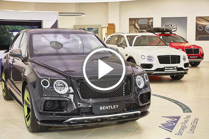 Bentley Bentayga Pikes Peak Limited Edition 限量車款首次亮相