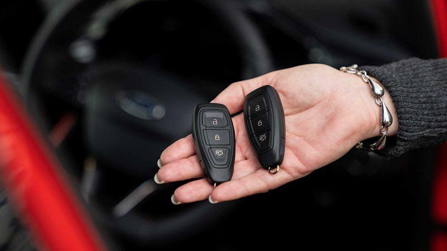 Ford在歐洲推出最新的防竊盜Keyless免鑰匙