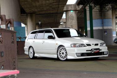 [稀有Wagon專題] Nissan Primera P11 Wagon(上)  Aero Sports版本更顯動感 !!