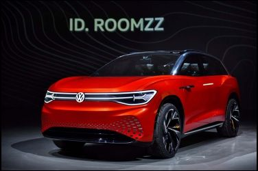 Volkswagen上海車展 全球首發ID. ROOMZZ 概念車