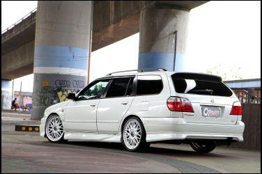[稀有Wagon專題] Nissan Primera P11 Wagon(下)  Aero Sports版本更顯動感 !!