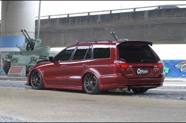 [稀有旅行車專題] 雙渦輪增壓旅行車  Mitsubishi Galant Wagon VR-4(下)