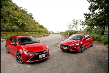 想要真掀背 還是準鋼砲  Ford Focus ST-Line vs. Toyota Auris