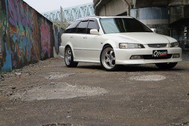 [稀有旅行車專題] Honda Accord Wagon SiR(上)  DOHC VTEC引擎原廠搭載 !!