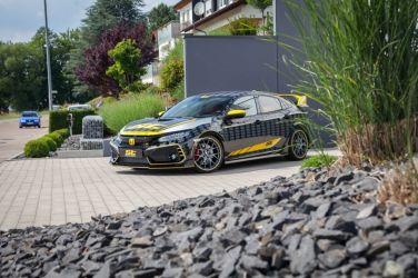 Civic Type-R FK8底盤升級優質選擇-德國 ST避震器