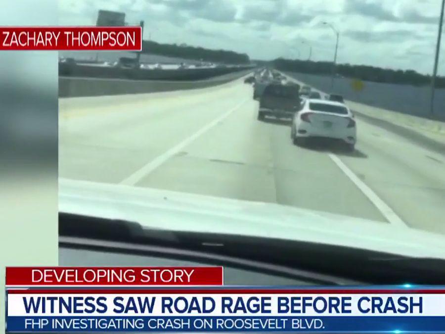 影/Honda Civic與Chevrolet休旅憤怒亂撞!6車遭殃1人死亡