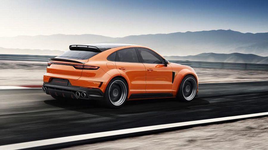 Porsche Cayenne Coupe才剛出來沒多久,TopCar就已經做好改裝計畫了