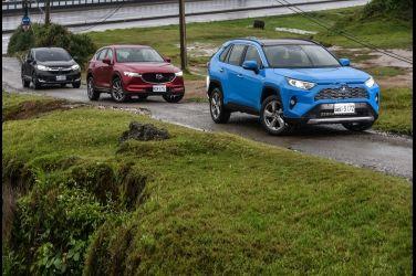 [集體評比] 三強爭霸戰(下)  Toyota RAV4 2.5 Hybrid vs. Honda CR-V 1.5 S vs. Mazda CX-5 SKY-G 2.5