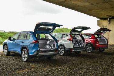 [集體評比] 三強爭霸戰(中)  Toyota RAV4 2.5 Hybrid vs. Honda CR-V 1.5 S vs. Mazda CX-5 SKY-G 2.5