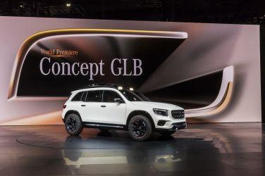 收復失土之作 Mercedes-Benz GLB Concept