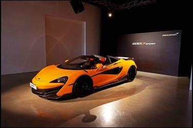 天空鬥技場 McLaren 600LT Spider