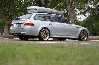BMW M5 E61 Touring(下)  低調大叔的家庭座駕 !!