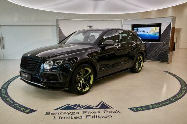 派克山限量版  Bentley Bentayga Pikes Peak Edition !!