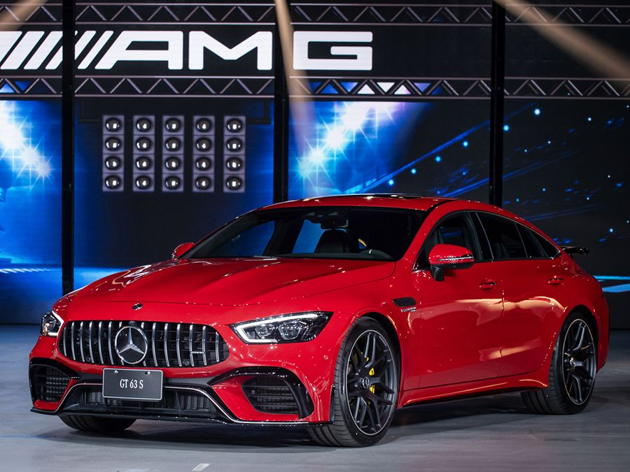 Mercedes AMG旗下最強四門跑車GT 4-Dooor Coupe正式上市!!