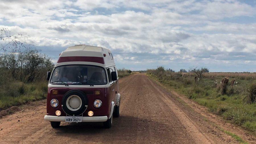 經典的VW Kombi改造露營車絕對是復古車屋生活的首選