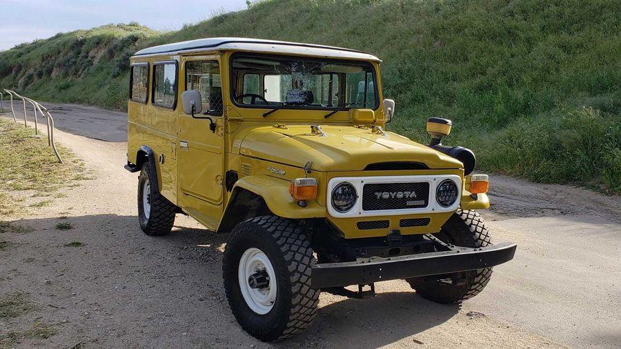改造過的1979 Toyota Land Cruiser HJ45露營車拍賣中