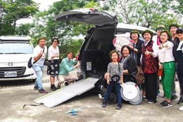 裕隆結合众社企9453友善小旅行讓國際身障朋友驚艷臺灣原民文化