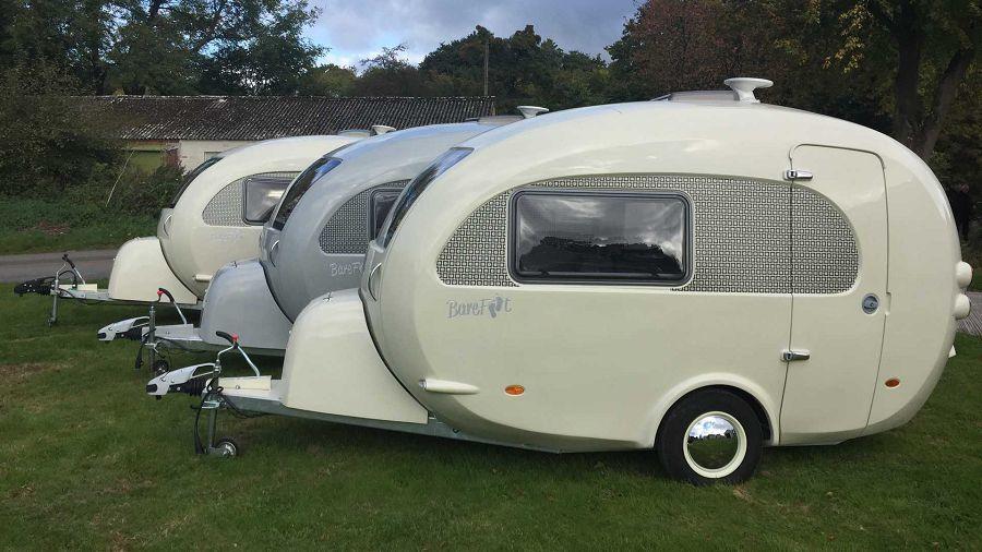 英國的Barefoot Caravans雞蛋外型露營拖車正式進軍北美市場