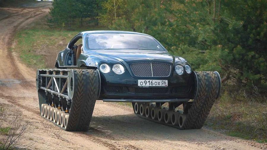 能想像嗎?Bentley Continental GT變成了一部豪華坦克車