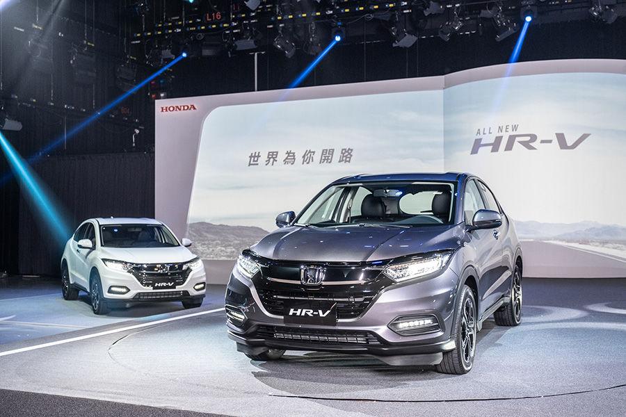 Honda HR-V改款上市! 77.7萬元起標配6氣囊+9大主動安全系統