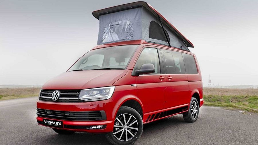 GTI的格紋內裝竟然與Volkswagen T6露營車如此合拍