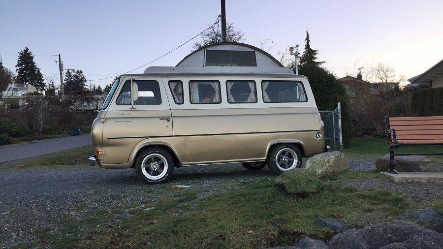 既有品味又懷舊的Ford Econoline復古露營車