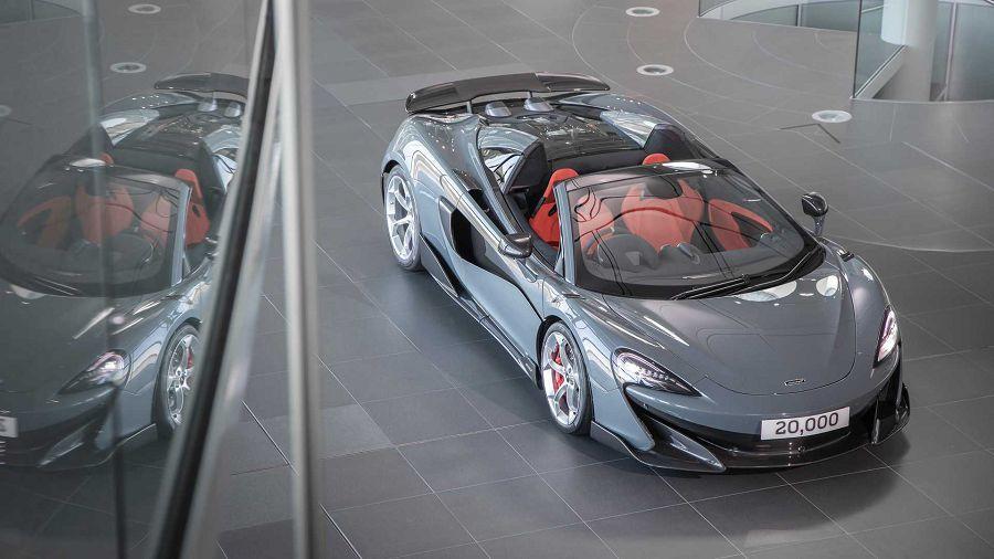 McLaren以600LT特別版來紀念MPC工廠達成20,000輛的生產里程碑