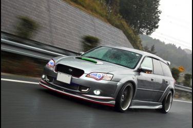 這種好爸爸很可以  Subaru Legacy BP5 !!