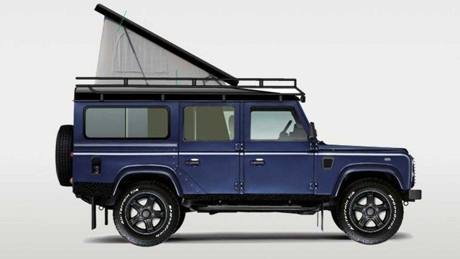 想得到嗎?Land Rover Defender竟也能變成這麼讚的露營車