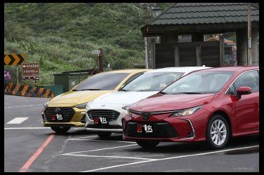 國產四門主流對抗賽(中)  Toyota Corolla Altis vs. Ford Focus 4D vs. Hyundai Elantra Sport