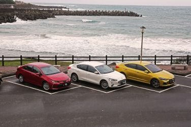 國產四門主流對抗賽(上)  Toyota Corolla Altis vs. Ford Focus 4D vs. Hyundai Elantra Sport
