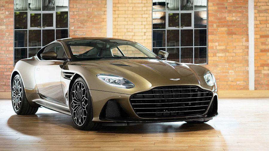 Aston Martin以2019 DBS Superleggera推出詹姆士龐德特別版車款