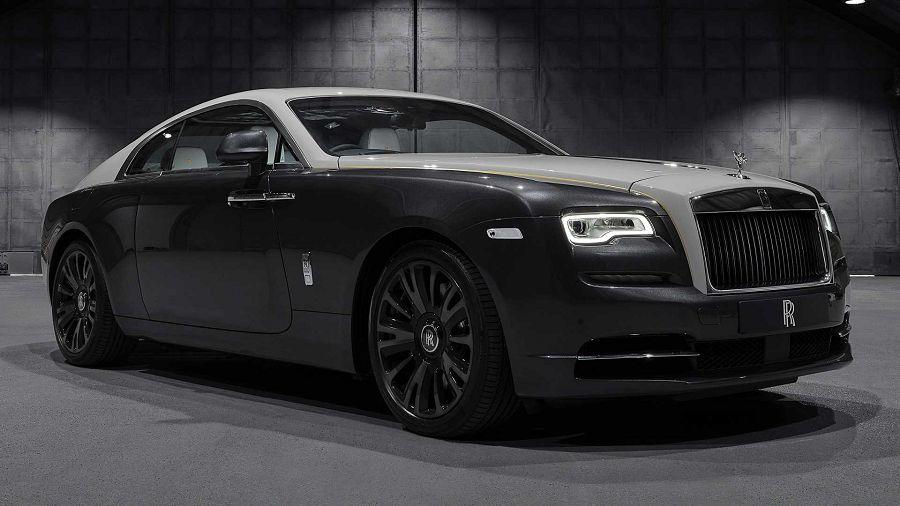 映照在車內的美麗夜空─Rolls-Royce發表Wraith Eagle VIII Collection Car