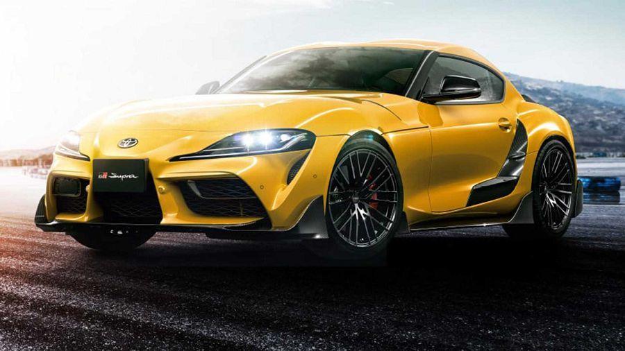TRD推出了給Toyota Supra使用的碳纖維車體套件與19吋輪圈