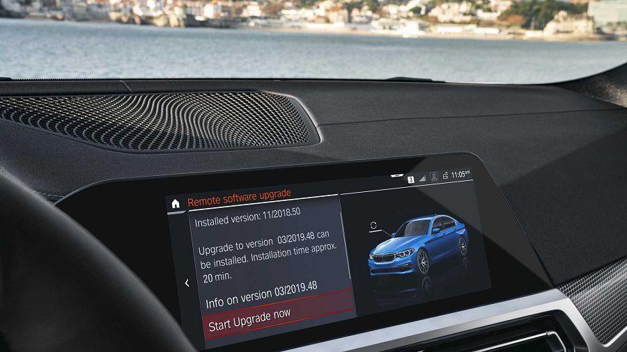 BMW宣布一些車款將能享用Over-The-Air無限更新技術